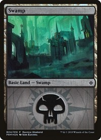 Swamp - Orzhov (B04), Magic: The Gathering, Launch Party & Release Event Promos