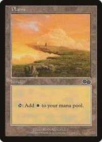 Plains (333), Magic: The Gathering, Urza's Saga