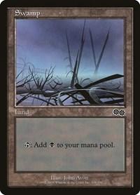 Swamp (339), Magic: The Gathering, Urza's Saga
