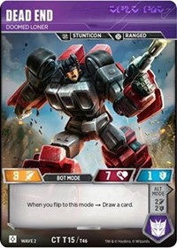 Dead End - Doomed Loner, Transformers TCG, Rise of the Combiners