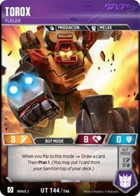 Torox - Fueler, Transformers TCG, Rise of the Combiners