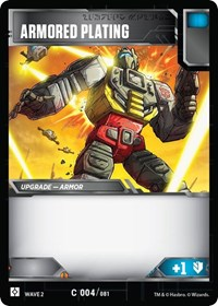 Armored Plating, Transformers TCG, Rise of the Combiners