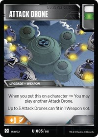 Attack Drone, Transformers TCG, Rise of the Combiners