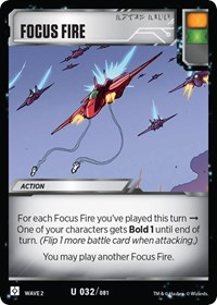 Focus Fire, Transformers TCG, Rise of the Combiners
