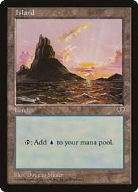Island (Sunset), Magic: The Gathering, Mirage