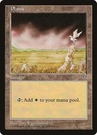 Plains Basic Land Details about  /Magic The Gathering MTG Mirage D