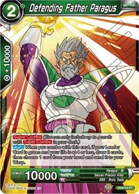 Defending Father Paragus, Dragon Ball Super CCG, Destroyer Kings