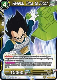 Time to Fight SD8-07 ST Dragon Ball Super TCG Near Mint Son Goku