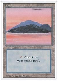 Island (C), Magic: The Gathering, Revised Edition