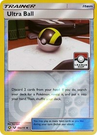 Ultra Ball - 68a/73 (League Promo), Pokemon, League & Championship Cards
