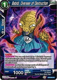 Babidi, Overseer of Destruction, Dragon Ball Super CCG, Destroyer Kings