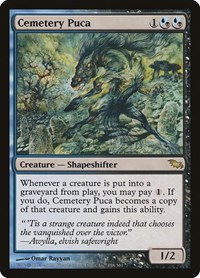 Cemetery Puca, Magic: The Gathering, Shadowmoor