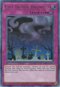 Call of the Haunted, YuGiOh, The Lost Art Promotion