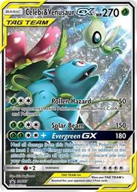 Celebi & Venusaur GX, Pokemon, SM Promos