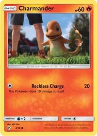 Charmander (Holo Common), Pokemon, Detective Pikachu