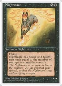 Nightmare, Magic, Fourth Edition