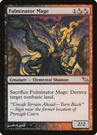 Fulminator Mage, Magic, Shadowmoor