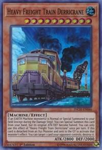 Heavy Freight Train Derricrane, YuGiOh, The Infinity Chasers