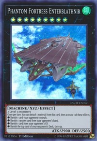 Phantom Fortress Enterblathnir, YuGiOh, The Infinity Chasers
