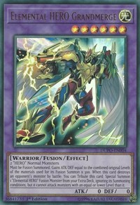 Elemental HERO Grandmerge, YuGiOh, Duel Power