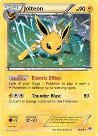 Jolteon - 26/98 (Cosmos Holo), Pokemon, Miscellaneous Cards & Products
