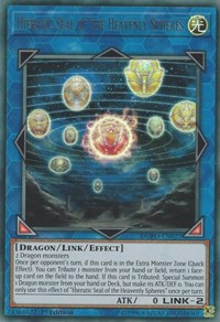 Hieratic Seal of the Heavenly Spheres, YuGiOh, Duel Power