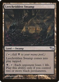 Leechridden Swamp, Magic: The Gathering, Shadowmoor
