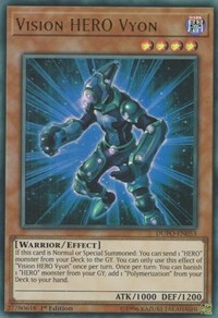 Vision HERO Vyon, YuGiOh, Duel Power