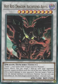 Hot Red Dragon Archfiend Abyss, YuGiOh, Duel Power