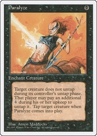 Paralyze, Magic: The Gathering, Fourth Edition