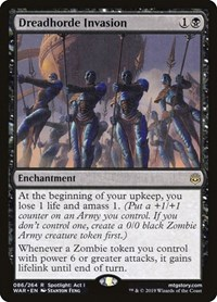 Dreadhorde Invasion, Magic: The Gathering, War of the Spark