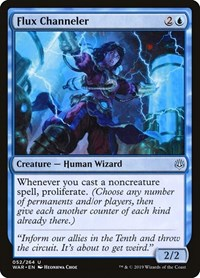 Flux Channeler, Magic: The Gathering, War of the Spark