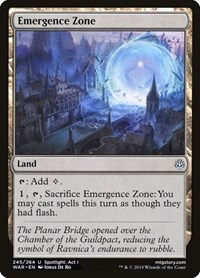 Emergence Zone, Magic: The Gathering, War of the Spark