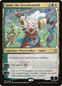 Ajani, the Greathearted, Magic: The Gathering, War of the Spark