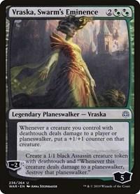 Vraska, Swarm's Eminence, Magic: The Gathering, War of the Spark