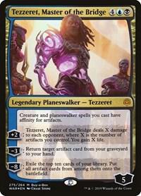 Tezzeret, Master of the Bridge, Magic: The Gathering, Buy-A-Box Promos