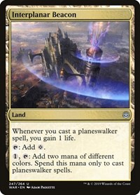 Interplanar Beacon, Magic, War of the Spark