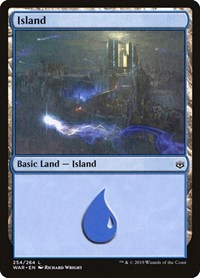 Island (254), Magic: The Gathering, War of the Spark