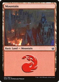 Mountain (261), Magic: The Gathering, War of the Spark
