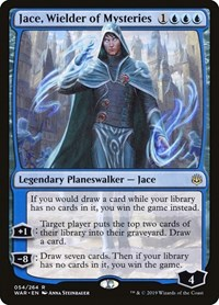Jace, Wielder of Mysteries, Magic: The Gathering, War of the Spark