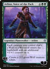 Arlinn, Voice of the Pack, Magic: The Gathering, War of the Spark