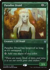 Paradise Druid, Magic, FNM Promos