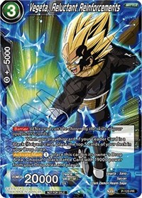 Vegeta, Reluctant Reinforcements (Power Booster), Dragon Ball Super CCG, Promotion Cards