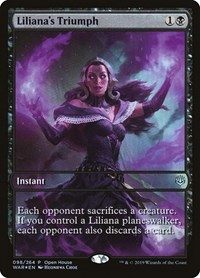 Liliana's Triumph, Magic: The Gathering, Open House Promos