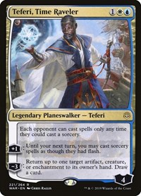 Teferi, Time Raveler, Magic: The Gathering, War of the Spark