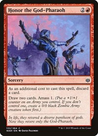 Honor the God-Pharaoh, Magic: The Gathering, War of the Spark