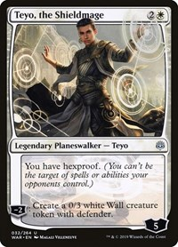 Teyo, the Shieldmage, Magic: The Gathering, War of the Spark