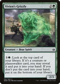 Vivien's Grizzly, Magic, War of the Spark