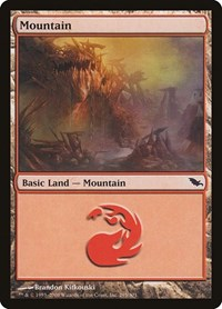 Mountain (295), Magic: The Gathering, Shadowmoor