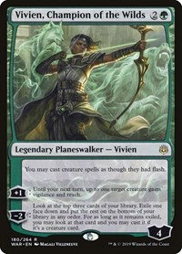 Vivien, Champion of the Wilds, Magic: The Gathering, War of the Spark